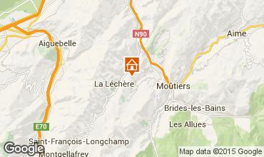 Map Valmorel Chalet 3473
