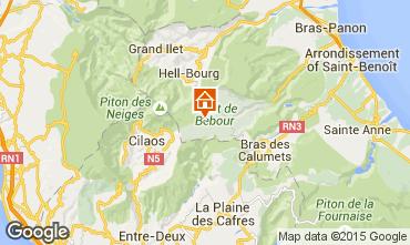 Map La Saline les Bains Villa 74576