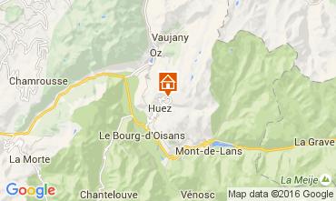 Map Alpe d'Huez Apartment 52