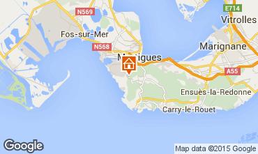 Map Martigues Villa 98149