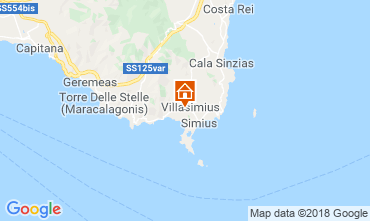 Map Villasimius Apartment 117111