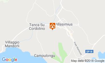 Map Villasimius Apartment 117111
