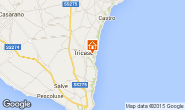 Map Tricase Villa 98089