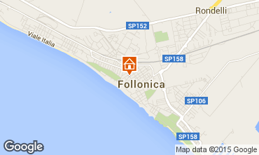 Map Follonica Apartment 76470
