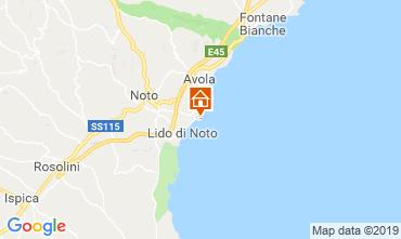 Map Noto Apartment 119736