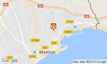 Map Menton Apartment 113375