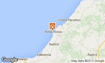 Map Isola Rossa Apartment 85297