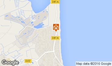 Map Saint Cyprien Plage Apartment 8719