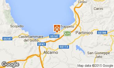 Map Balestrate Villa 35996