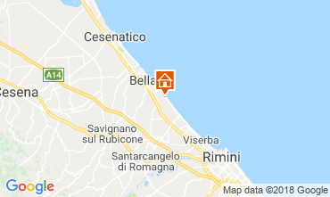 Map Bellaria Igea Marina Apartment 82159