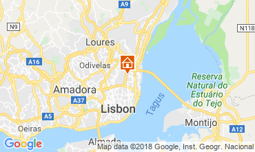 Map Lisbon Apartment 116111