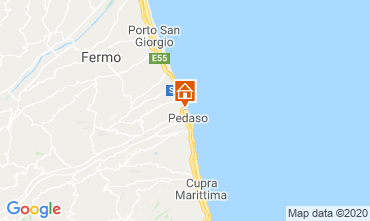 Map Porto San Giorgio Apartment 58120