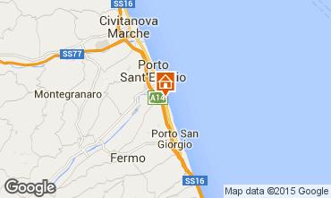 Map Porto San Giorgio Bungalow 85039