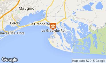 Map Le Grau du Roi Apartment 49512