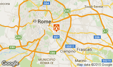 Map Rome Apartment 67093