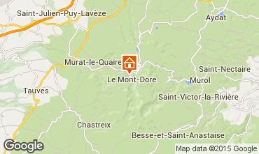 Map Le Mont Dore Apartment 48443
