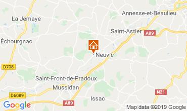 Map Périgueux Vacation rental 99472