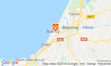 Map Biarritz House 83182