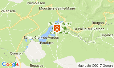 Map Aiguines Mobile home 110489