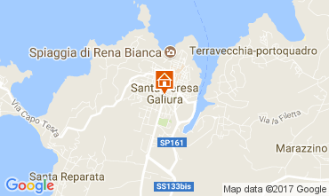 Map Santa Teresa di Gallura Apartment 60838