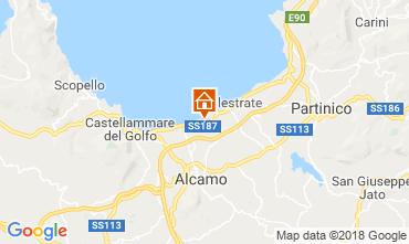 Map Alcamo Marina Villa 117087