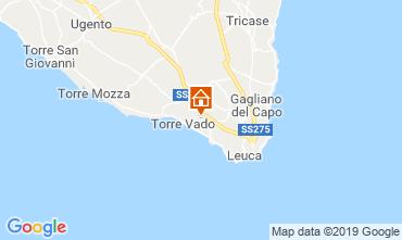 Map Santa Maria di Leuca Villa 71686