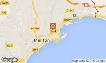 Map Menton Apartment 99643