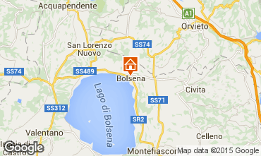 Map Bolsena Apartment 79320