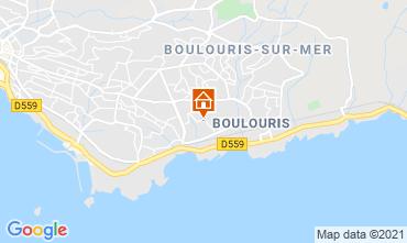Map Saint Raphael Villa 73281