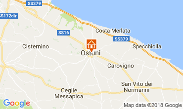 Map Ostuni Apartment 115528