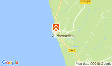 Map Audresselles Vacation rental 115601