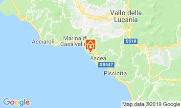 Map Ascea Apartment 17310