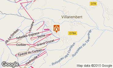 Map Le Corbier Apartment 60817