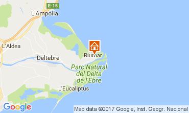 Map Deltebre Villa 109141