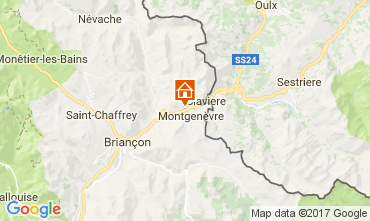 Map Montgenevre One-room apartment 112352