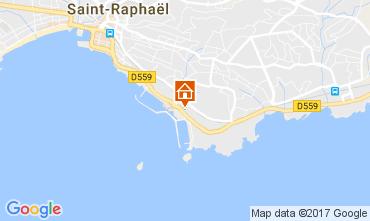 Map Saint Raphael Apartment 107732