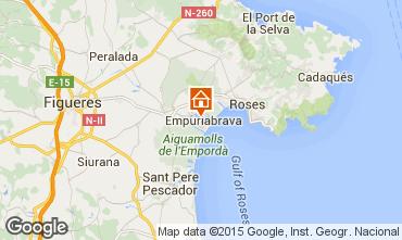Map Empuriabrava Apartment 82801