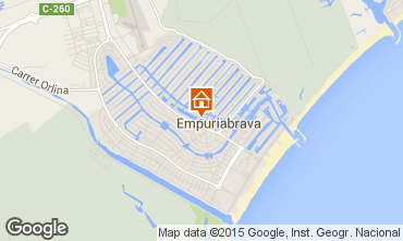 Map Empuriabrava Apartment 82801