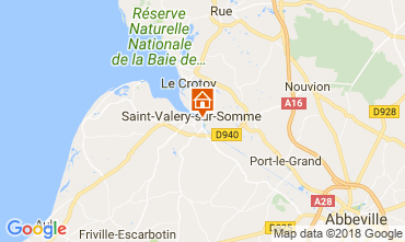 Map Saint Valéry sur Somme Apartment 113809