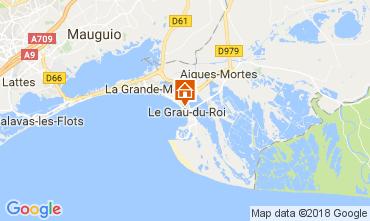 Map Le Grau du Roi Apartment 110990