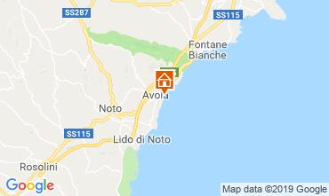 Map Avola Apartment 113711