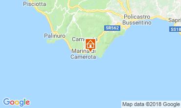 Map Marina di Camerota Apartment 21885