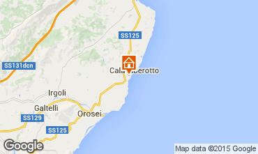 Map Cala Liberotto Apartment 40444