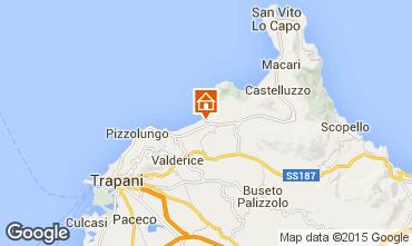 Map Trapani Apartment 45455