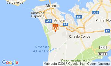 Map Lisbon Villa 78951
