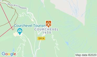 Map Courchevel Apartment 1084