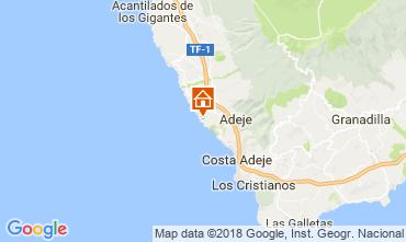 Map Adeje Apartment 113786