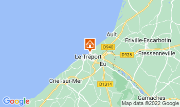 Map Mers Les bains One-room apartment 90510