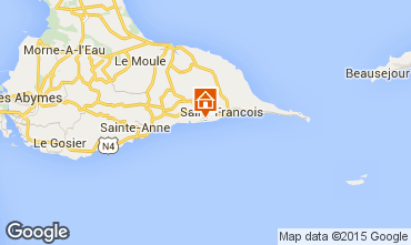 Map Saint Francois Apartment 82066