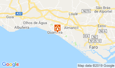 Map Quarteira Apartment 117938